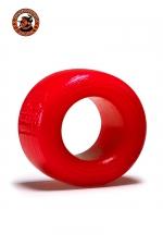 Balls-T Ballstretcher - rouge : Le ball-stretcher phare de la marque Oxballs, en version small, coloris rouge, plus accessible et utilisable pour s'entrainer.