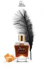 Peinture de corps Poême caramel : Flacon de peinture corporelle comestible au parfum délicieux de caramel, par Bijoux Indiscrets.