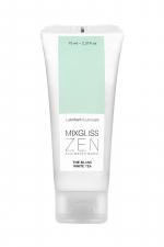 Mixgliss eau - Zen Thé blanc 70ml : Fraîcheur sensuelle! un lubrifiant intime aux notes végétales de thé blanc.