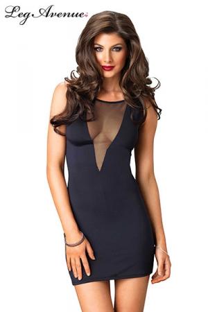 Robe Isabel : Robe courte stretch avec un profond d�collet� en V sur la poitrine.